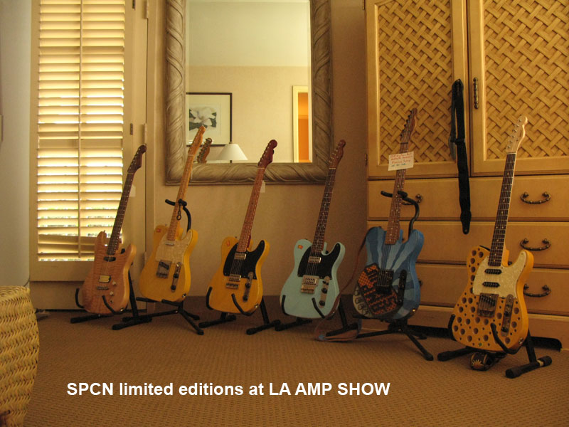 SPCN limited editions at LA AMP SHOW
